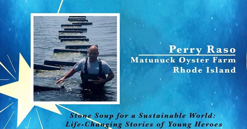 Perry Raso, owner of Matunuck Oyster Farm in Rhode Island