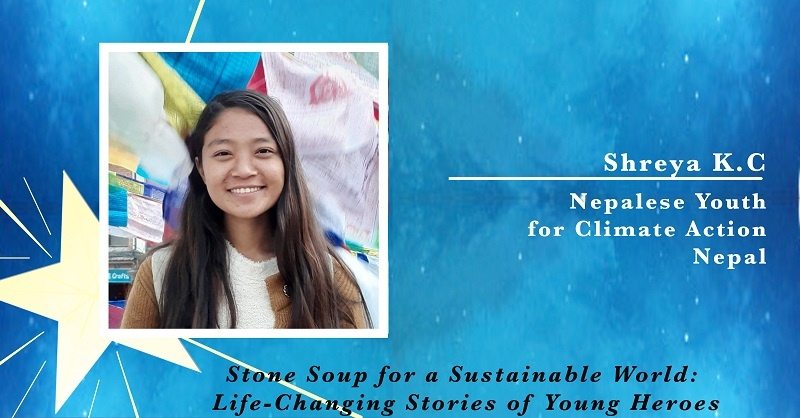 Shreya KC, Nepalese Youth for Climate Action