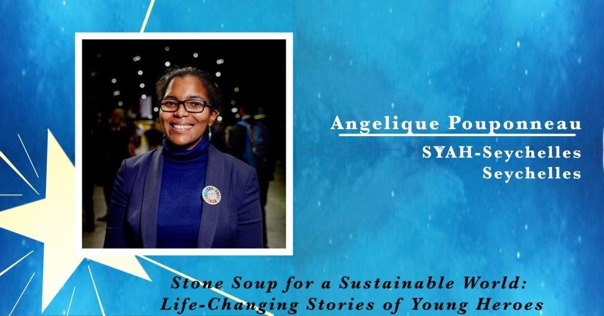 Angelique Pouponneau, SYAH in Seychelles