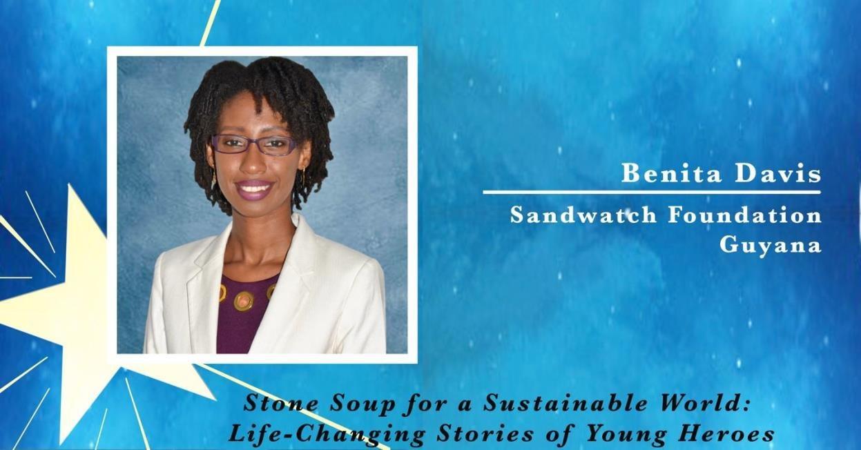 Benita Davis, Policy Forum Guyana and River Guardians in Guyana