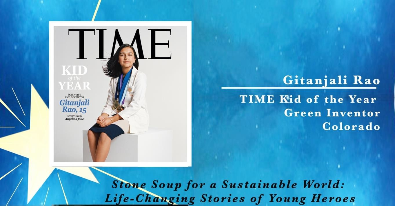 TIME Kid of the Year, Gitanjali Rao, a Green Inventor from Colorado